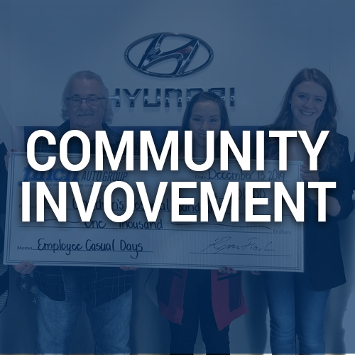 Community involvement for Finch Hyundai, new and used Hyundai cars and SUVs in London Ontario