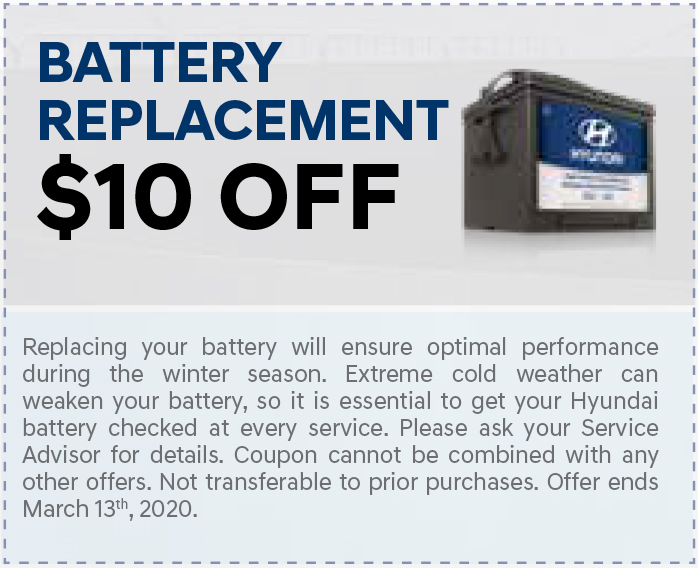 coupon - battery