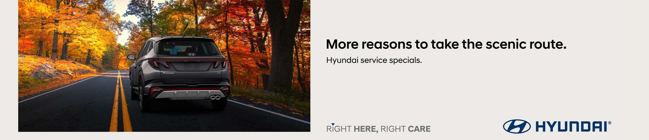 Finch Hyundai service specials