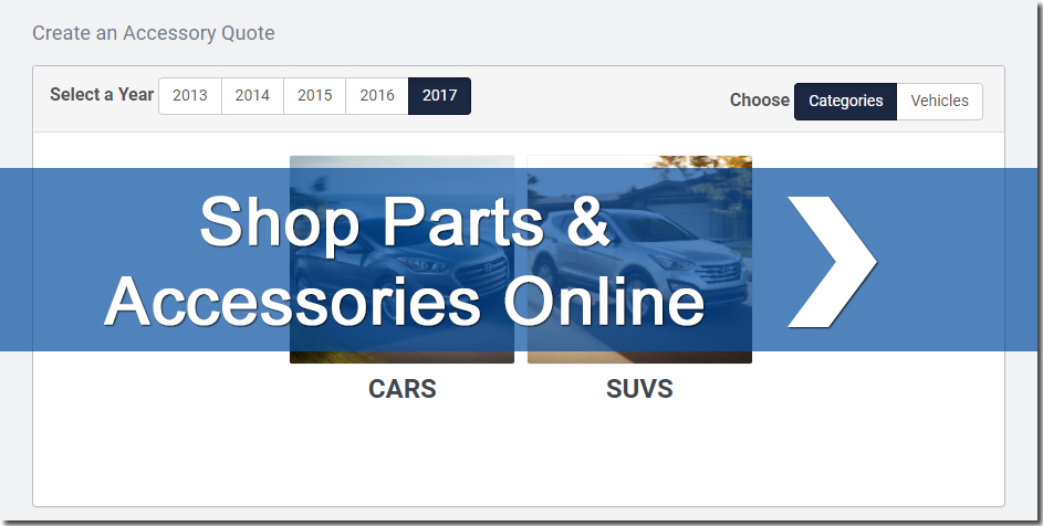 Shop Hyundai Parts & Accessories in London