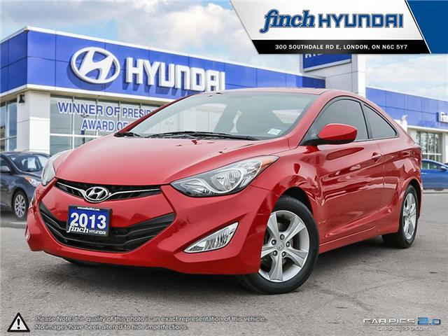 Used 2013 Hyundai Elantra GLS Manual Coupe in London Ontario at Used Car Clearance prices from Finch Hyundai