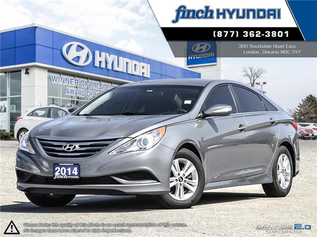 Used 2014 Hyundai Sonata GL Automatic in London Ontario at Used Car Clearance prices from Finch Hyundai