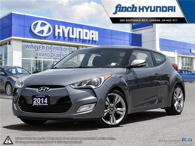 Used 2014 Hyundai Veloster Tech DCT in London Ontario at Used Car Clearance prices from Finch Hyundai