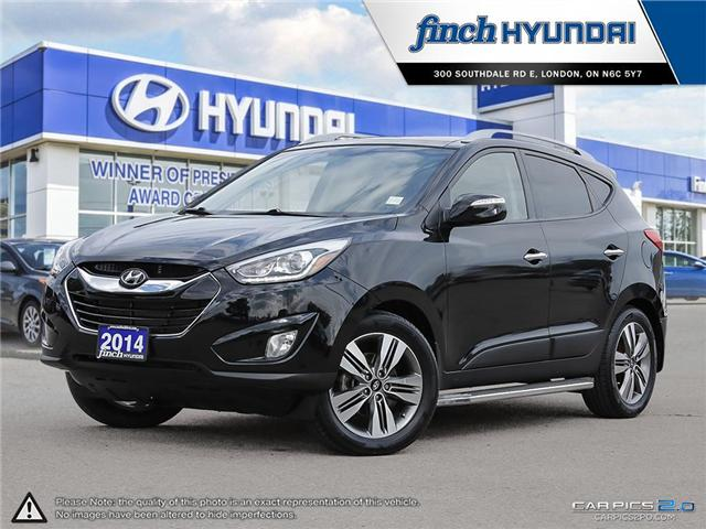 Used 2014 Hyundai Tucson Limited with Nav in London ONtario at Used Car Clearance prices from Finch Hyundai