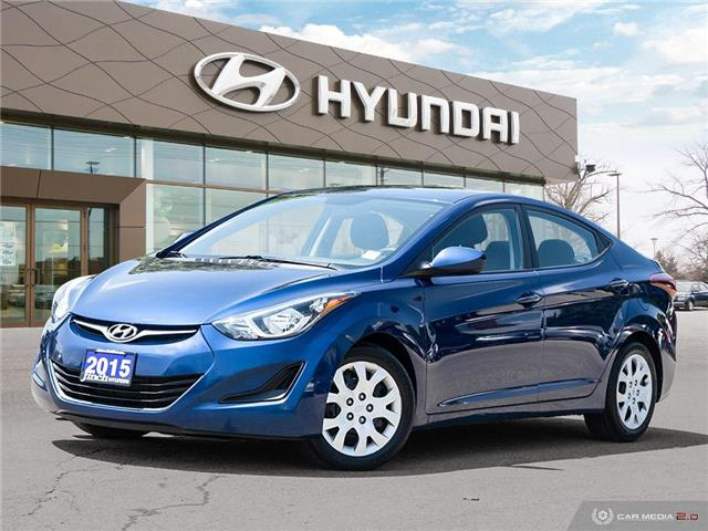 Used 2015 Hyundai Elantra GL Auto in London Ontario at Used Car Clearance prices from Finch Hyundai