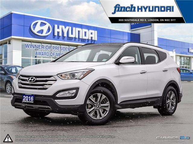Used 2016 Hyundai Santa Fe 2.5L Luxury in London Ontario at Used Car Clearance prices from Finch Hyundai