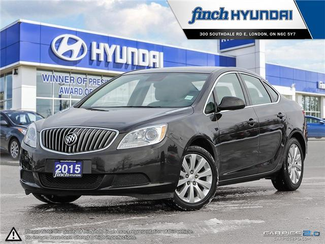 Used 2015 Buick Verano in London Ontario at Used Car Clearance prices from Finch Hyundai