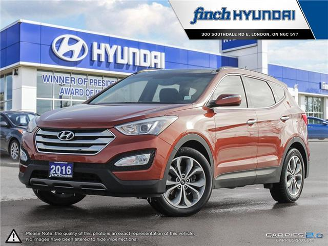 Used 2016 Hyundai Santa Fe 2.0T Limited in London Ontario at Used Car Clearance prices from FInch Hyundai