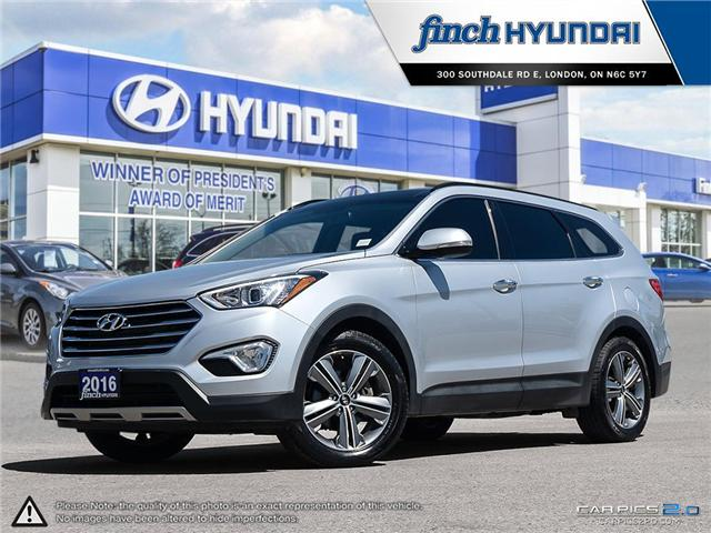 Used 2016 Hyundai Santa Fe XL Limited 6-Passenger in London Ontario at Used Car Clearance prices from FInch Hyundai
