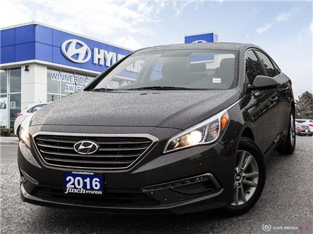 Used 2016 Hyundai Sonata 2.4L GL Auto in London Ontario at Used Car Clearance prices from FInch Hyundai