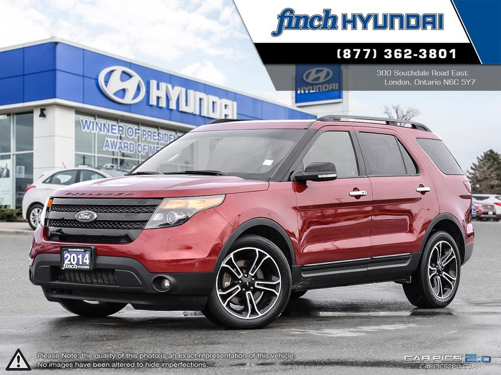 Used 2014 Ford Explorer Sport in London Ontario at Used Car Clearance prices from Finch Hyundai