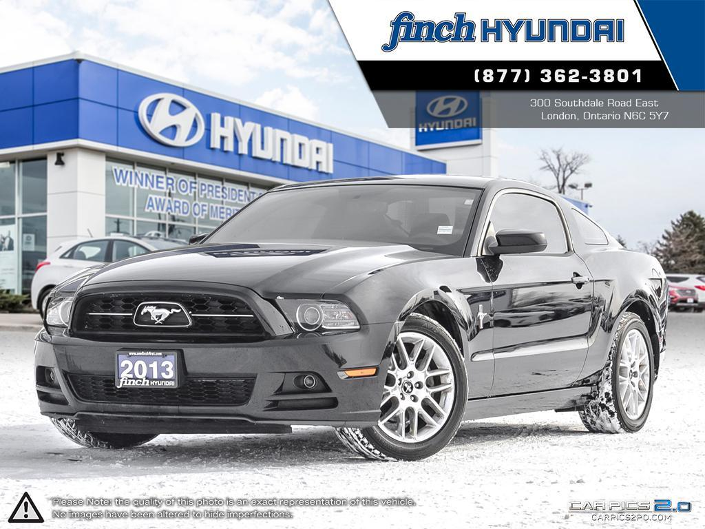 Used 2013 Ford Mustang Premium Manual in London Ontario at Used Car Clearance prices from Finch Hyundai