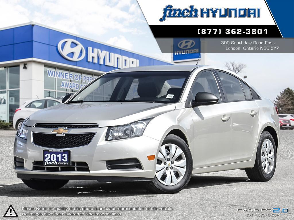 Used 2013 Chevrolet Cruze LS in London Ontario at Used Car Clearance prices from Finch Hyundai