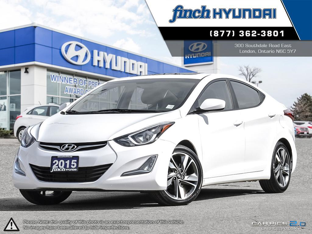 Used 2015 Hyundai Elantra GLS Manual in London Ontario at Used Car Clearance prices from Finch Hyundai