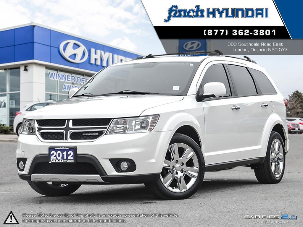 Used 2012 Dodge Journey RT AWD 7 Passenger in London Ontario at Used Car Clearance prices from Finch Hyundai