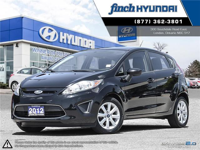 Used 2012 Ford Fiesta SE in London Ontario at Used Car Clearance prices from Finch Hyundai