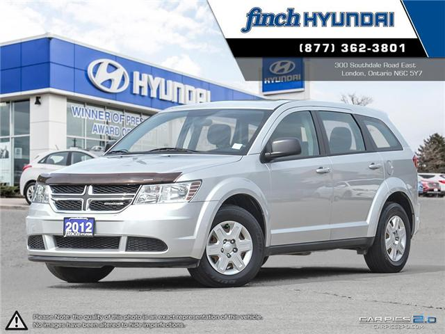 Used 2012 Dodge Journey CVP/SE in London Ontario at Used Car Clearance prices from Finch Hyundai