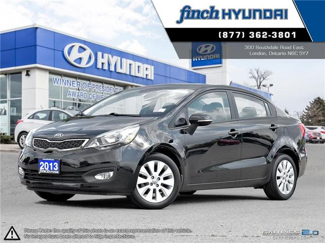 Used 2013 Kia Rio EX Manual in London Ontario at Used Car Clearance prices from Finch Hyundai