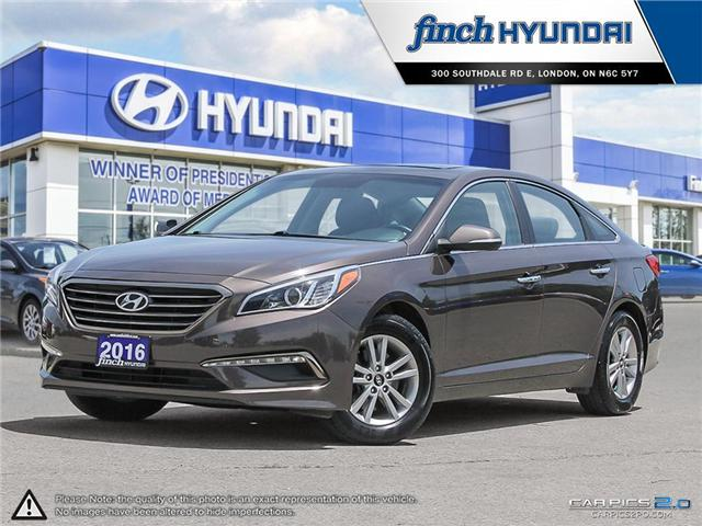 Used 2016 Hyundai Sonata GLS in London Ontario at Used Car Clearance prices from Finch Hyundai