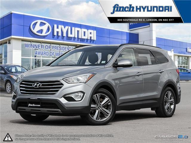 Used 2013 Hyundai Santa Fe XL Limited in London Ontario at Used Car Clearance prices from Finch Hyundai
