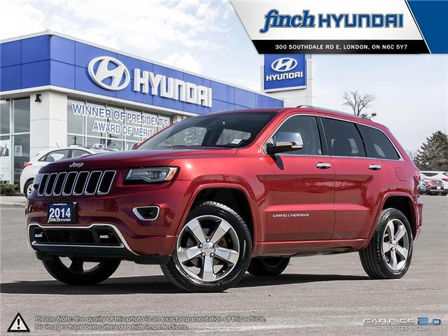 Used 2014 Jeep Grand Cherokee Overland in London Ontario at Used Car Clearance prices from Finch Hyundai