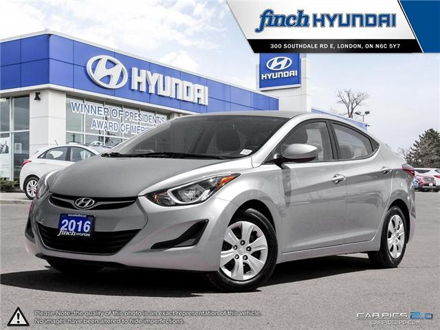 Used 2016 Hyundai Elantra LE Auto in London Ontario at Used Car Clearance prices from Finch Hyundai