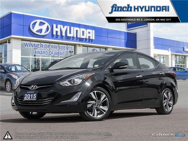 Used 2015 Hyundai Elantra Limited w/Nav in London Ontario at Used Car Clearance prices from Finch Hyundai