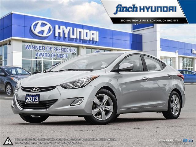 Used 2013 Hyundai Elantra GLS Manual in London Ontario at Used Car Clearance prices from Finch Hyundai