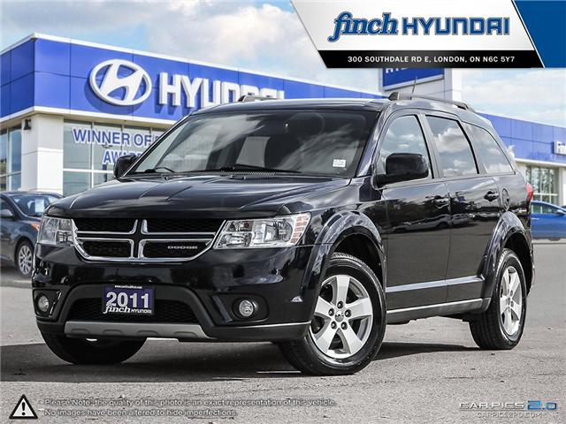 Used 2011 Dodge Journey SXT in London Ontario at Used Car Clearance prices from Finch Hyundai