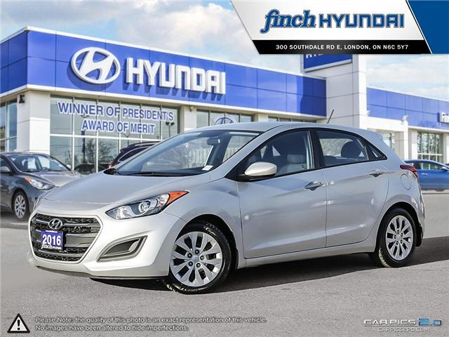 Used 2016 Hyundai Elantra GT GL in London Ontario at Used Car Clearance prices from Finch Hyundai