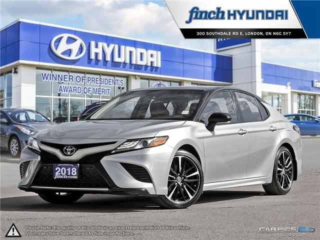 Used 2018 Toyota Camry XSE in London Ontario at Used Car Clearance prices from Finch Hyundai