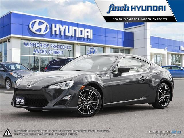Used 2015 Scion FR-S in London Ontario at Used Car Clearance prices from Finch Hyundai