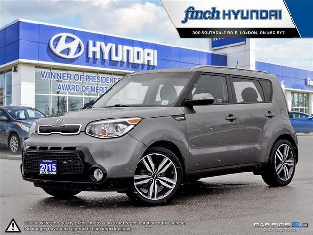 Used 2015 Kia Soul SX in London Ontario at Used Car Clearance prices from Finch Hyundai