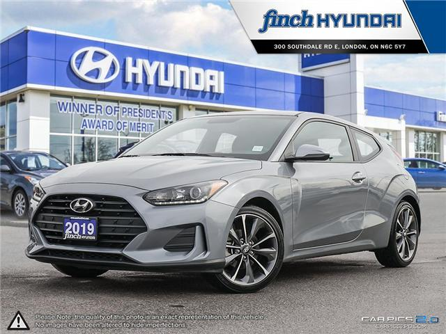 Used 2019 Hyundai Veloster GL Auto in London Ontario at Used Car Clearance prices from Finch Hyundai