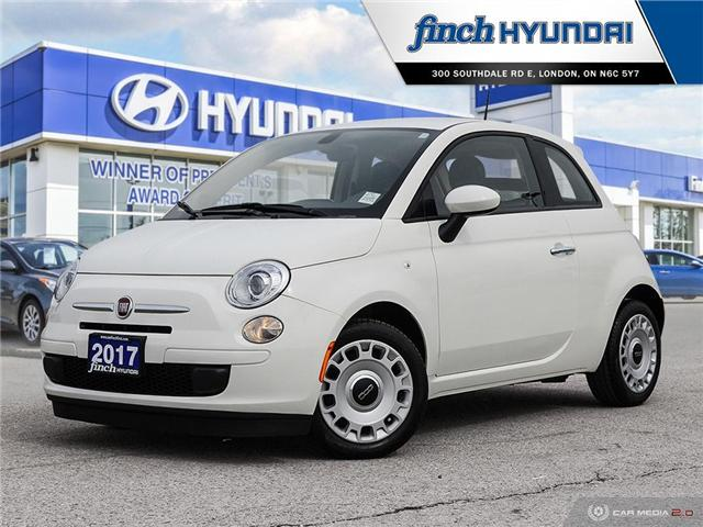 Used 2017 Fiat 500 Pop Manual in London Ontario at Used Car Clearance prices from Finch Hyundai