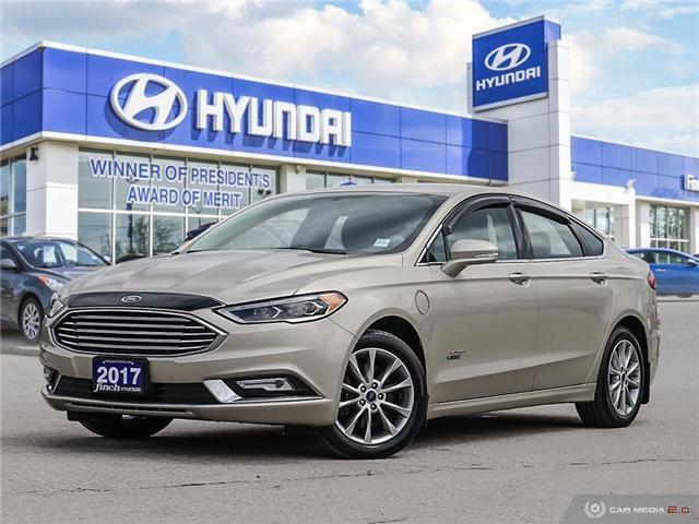 Used 2017 Ford Fusion Hybrid Luxury in London Ontario at Used Car Clearance prices from Finch Hyundai