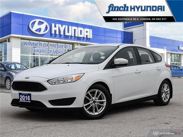 Used 2016 Ford Focus SE Auto in London Ontario at Used Car Clearance prices from Finch Hyundai