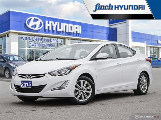 Used 2015 Hyundai Elantra SE Auto in London Ontario at Used Car Clearance prices from Finch Hyundai