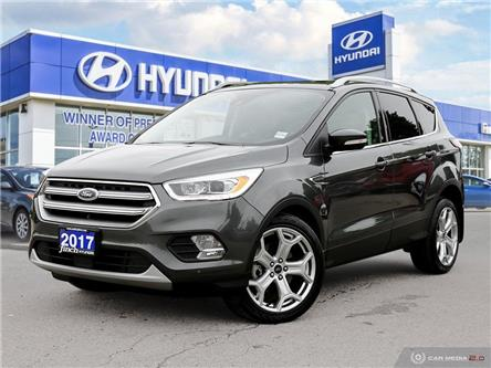 Used 2017 Ford Escape Titanium AWD in London Ontario at Used Car Clearance prices from Finch Hyundai