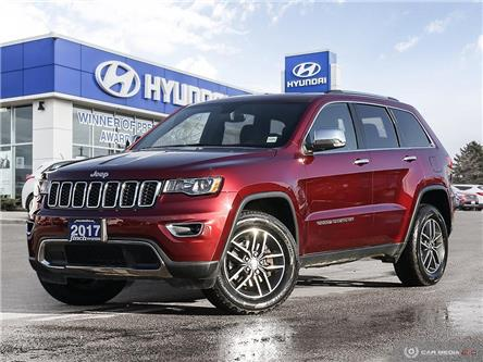Used 2017 Jeep Grand Cherokee Limited in London Ontario at Used Car Clearance prices from Finch Hyundai