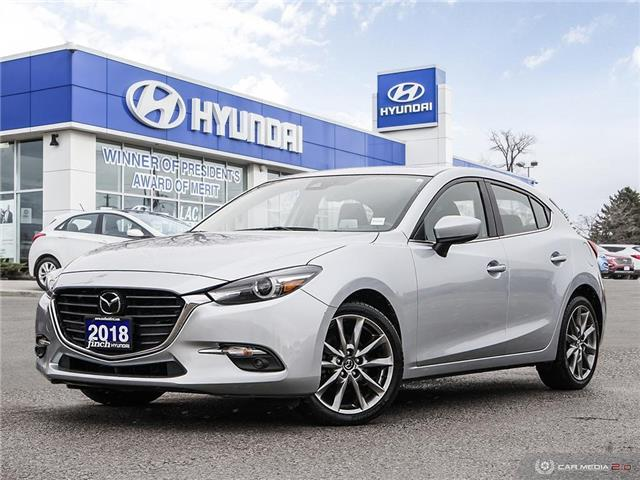 Used 2018 Mazda3 Sport GT in London Ontario at Used Car Clearance prices from Finch Hyundai