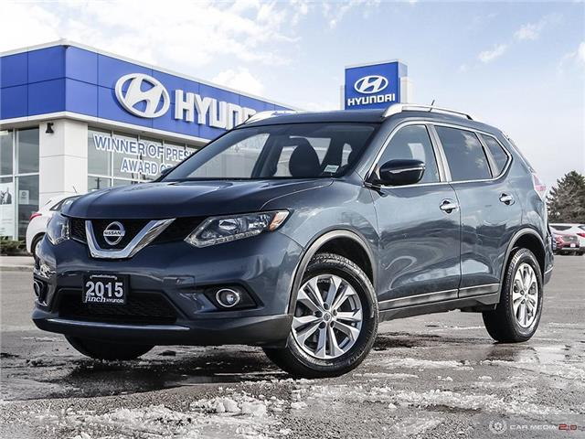 Used 2015 Nissan Rogue SV AWD in London Ontario at Used Car Clearance prices from Finch Hyundai