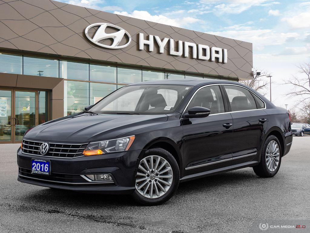 Used 2016 Volkswagen Password Comfortline in London Ontario at Used Car Clearance prices from Finch Hyundai