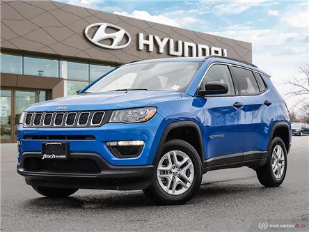 Used 2019 Jeep Compass Sport in London Ontario at Used Car Clearance prices from Finch Hyundai