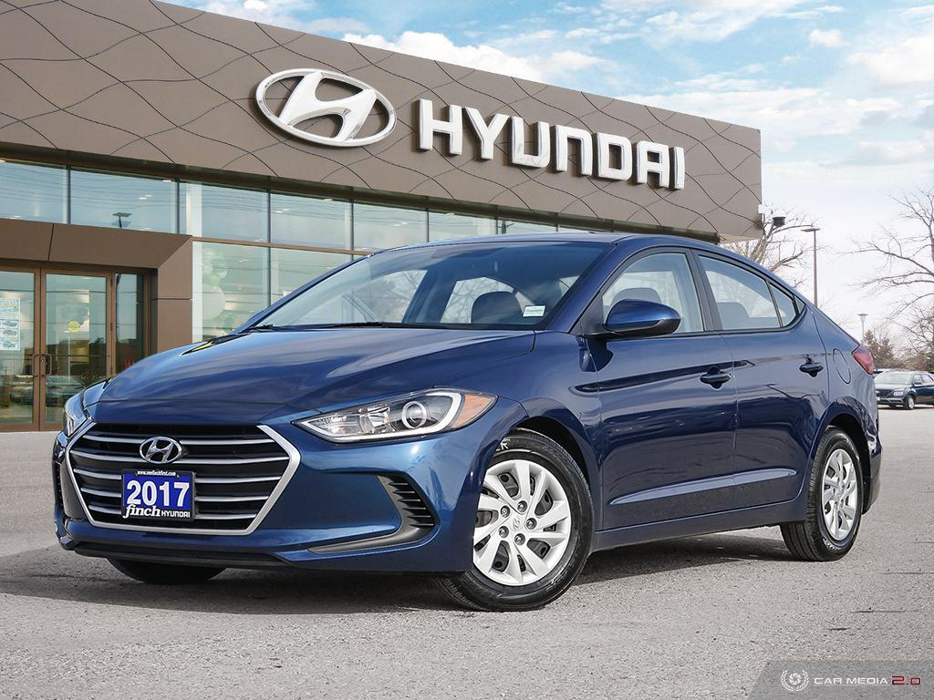 Used 2017 Hyundai Elantra LE in London Ontario at Used Car Clearance prices from Finch Hyundai