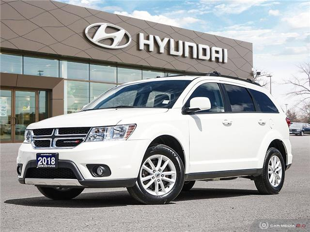 Used 2018 Dodge Journey SXT AWD in London Ontario at Used Car Clearance prices from Finch Hyundai