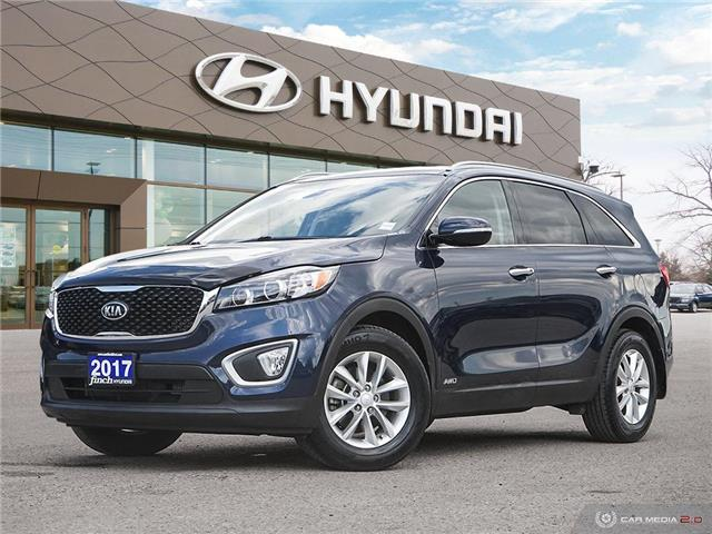 Used 2017 Kia Sorento LX AWD Turbo in London Ontario at Used Car Clearance prices from Finch Hyundai