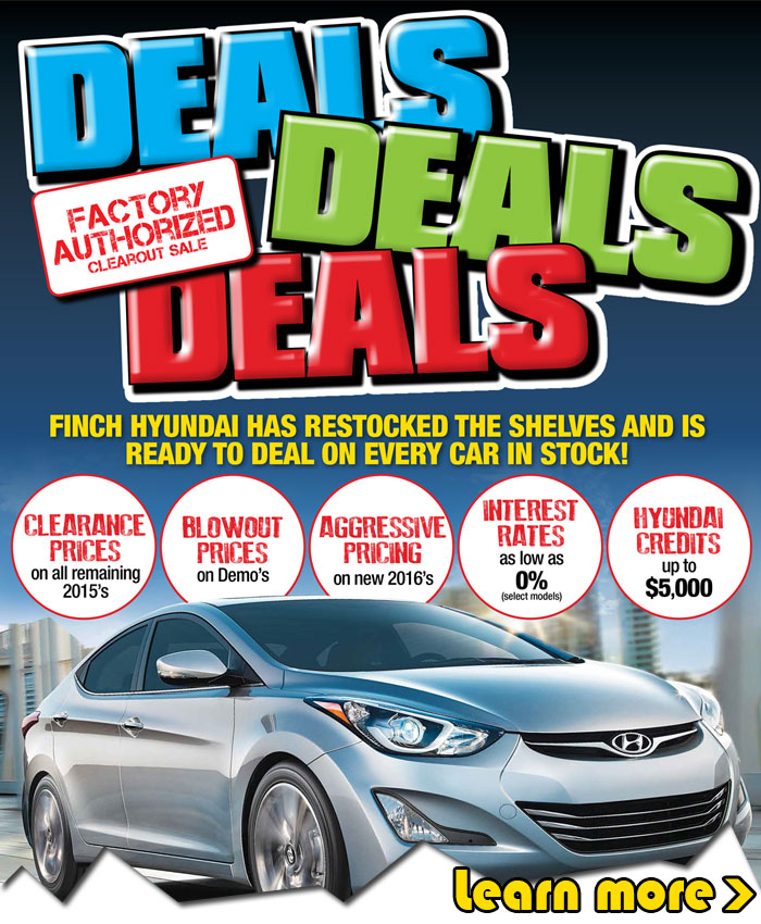 We have restocked the shelves and we're ready to deal on every new Hyundai car or SUV in stock with clearance, blowout prices and Hyundai credits in London.