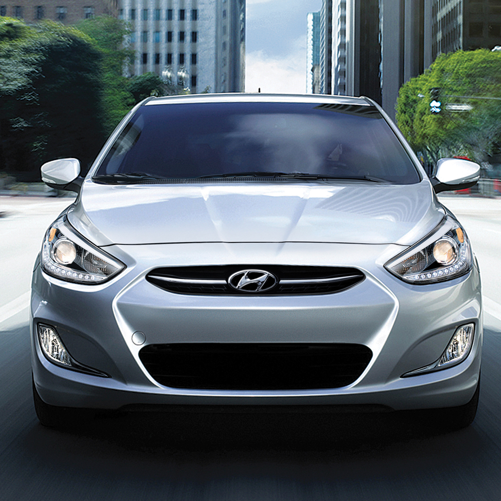 New Hyundai Accent Sedan in London