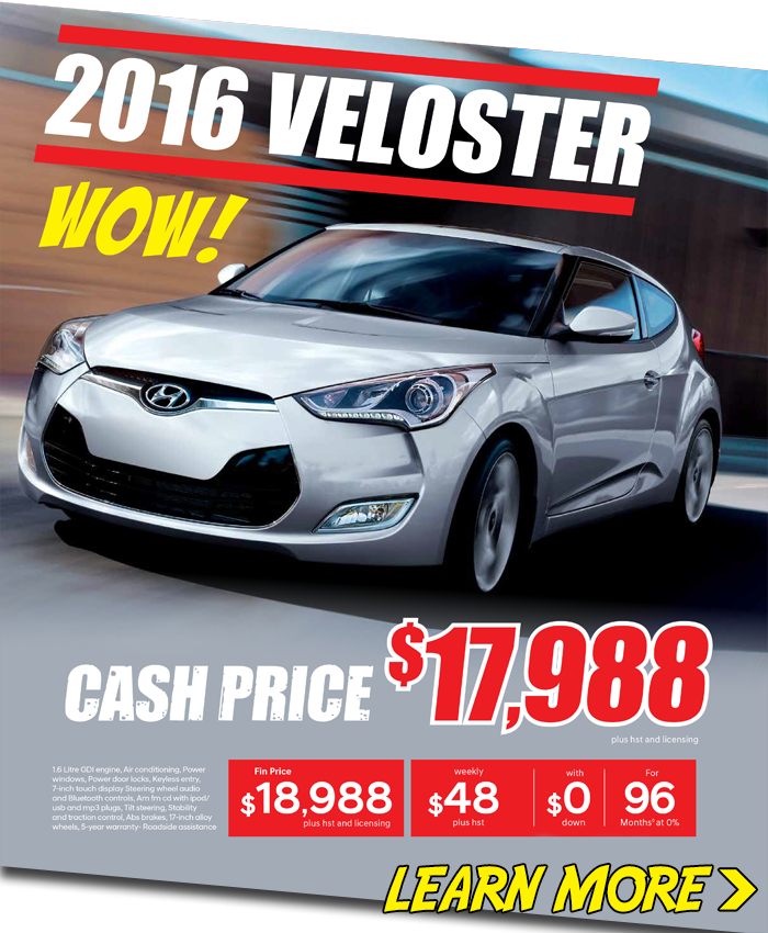 Massive 2016 Veloster Blowout London